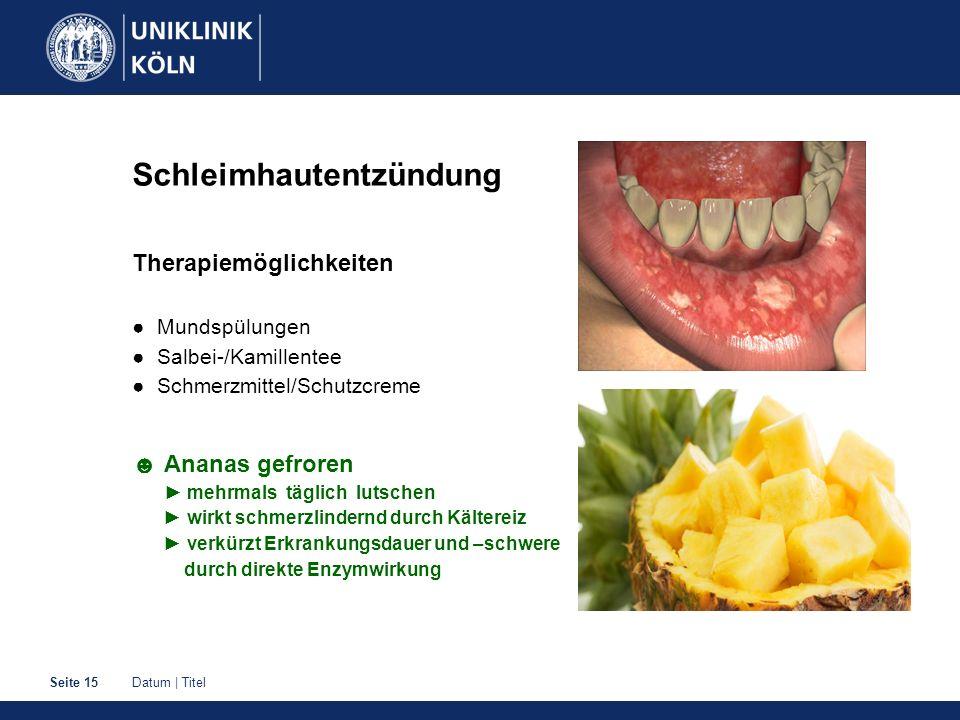 Schleimhautentzündung