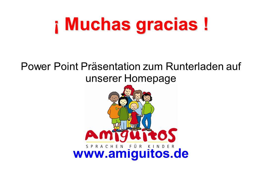 Power Point Präsentation zum Runterladen auf unserer Homepage