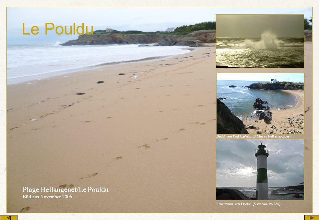 Le Pouldu Plage Bellangenet/Le Pouldu Bild aus November 2006