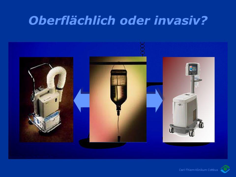 Oberflächlich oder invasiv