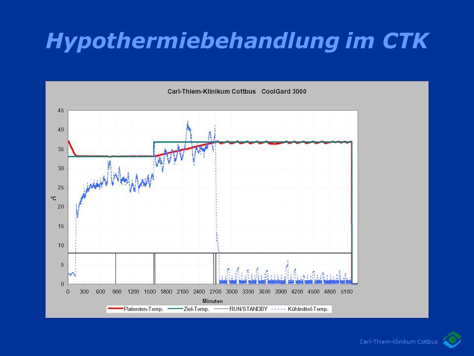 Hypothermiebehandlung im CTK