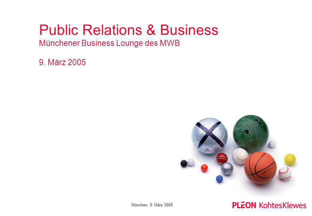Public Relations & Business Münchener Business Lounge des MWB 9