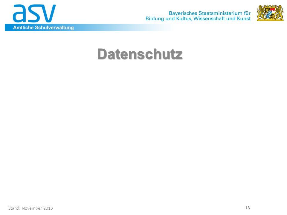 Datenschutz Geplant 14.30 Uhr Referat I.5 – Hr. Holste