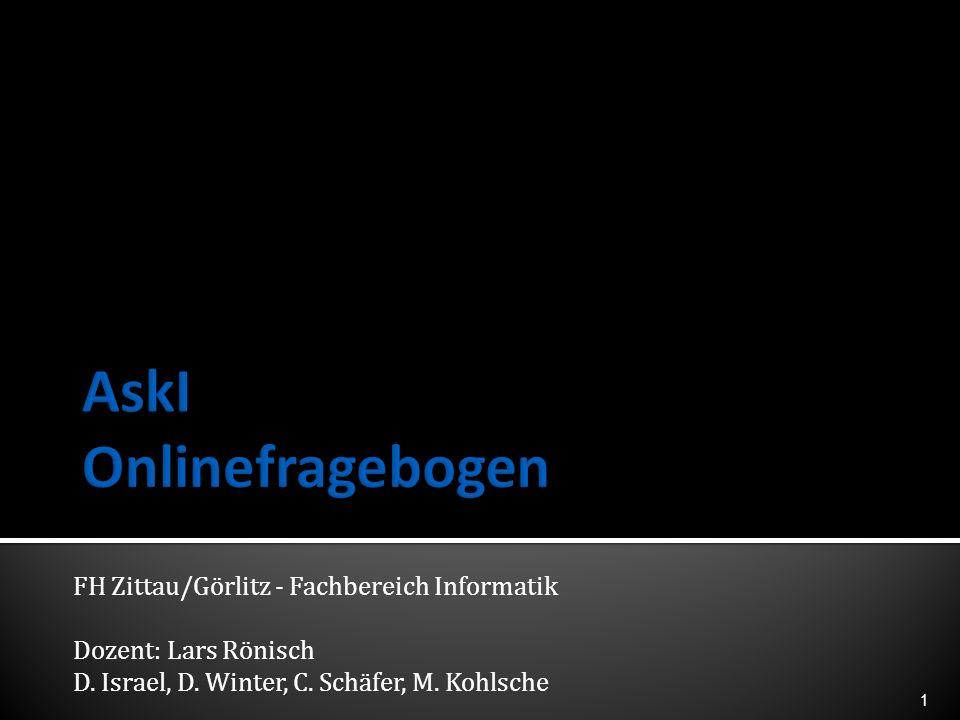 AskI Onlinefragebogen