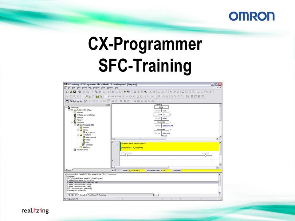 CX-Programmer SFC-Training