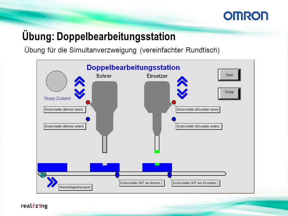 Übung: Doppelbearbeitungsstation