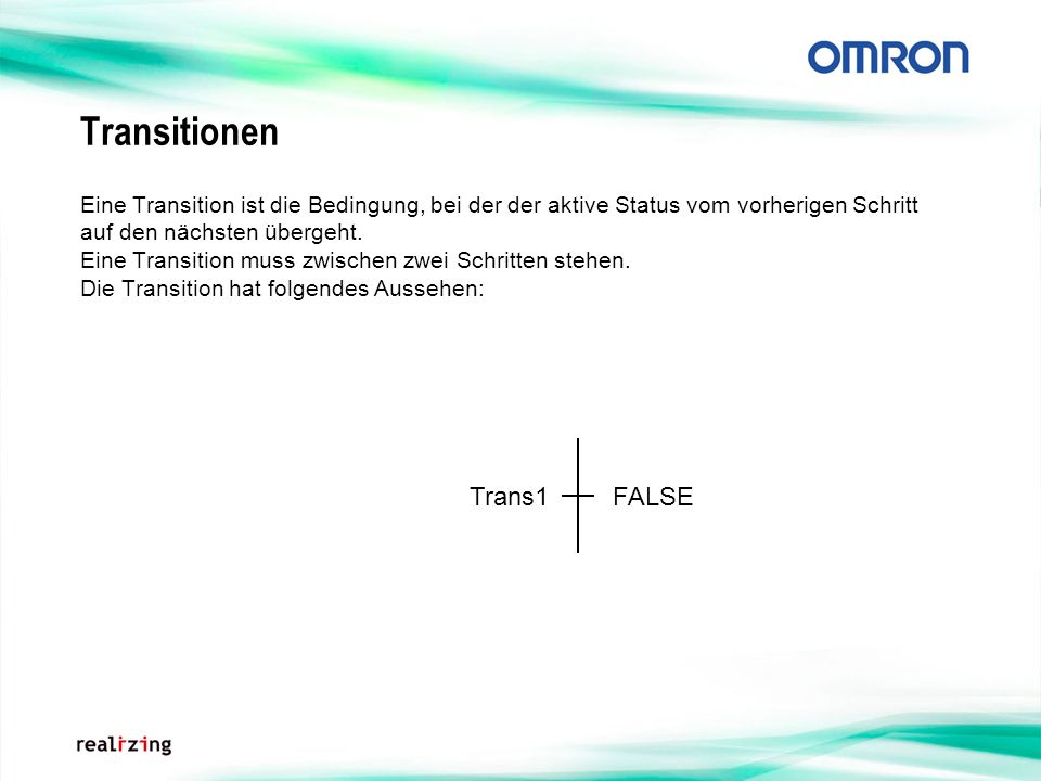 Transitionen Trans1 FALSE