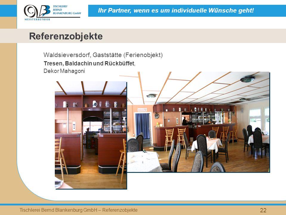 Referenzobjekte Waldsieversdorf, Gaststätte (Ferienobjekt)