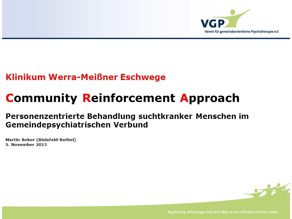 -. Klinikum Werra-Meißner Eschwege Community Reinforcement Approach