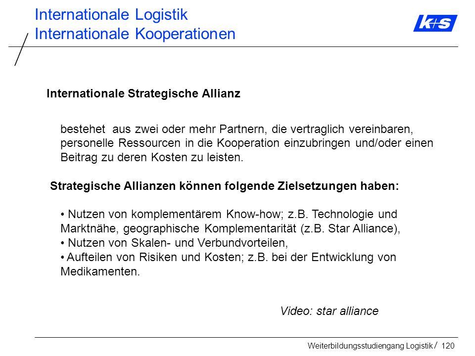 Internationale Logistik Internationale Kooperationen