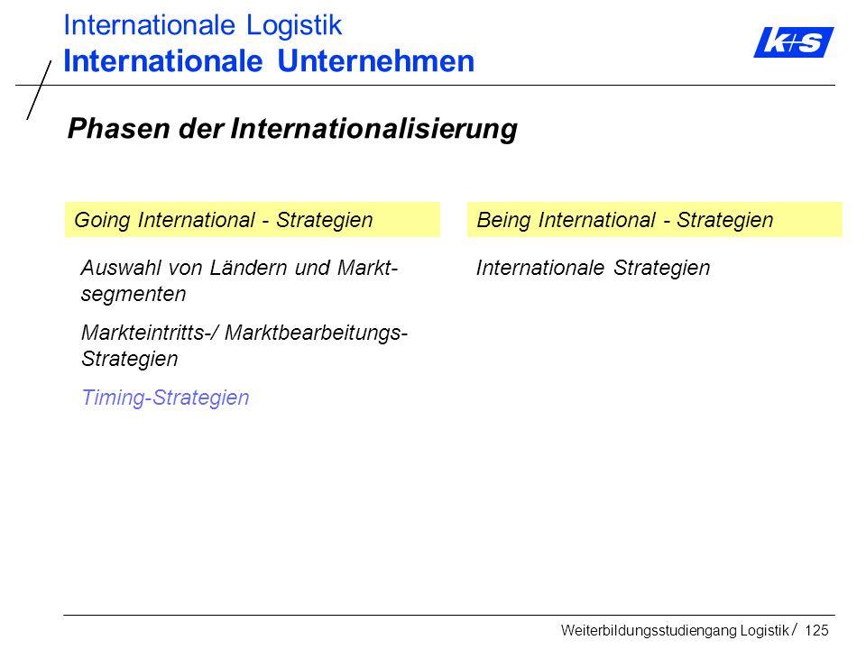 Internationale Unternehmen