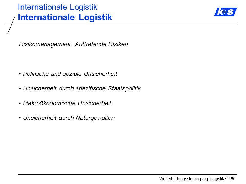 Internationale Logistik