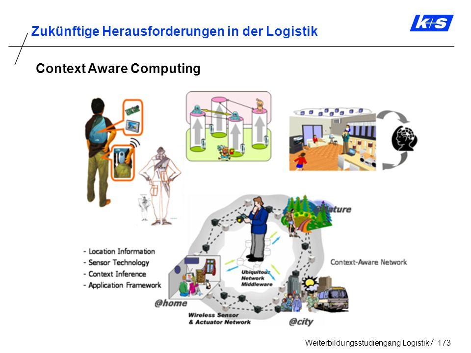 Zukünftige Herausforderungen in der Logistik