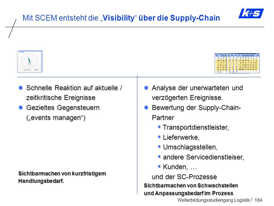 """Mit SCEM entsteht die """"Visibility über die Supply-Chain"""