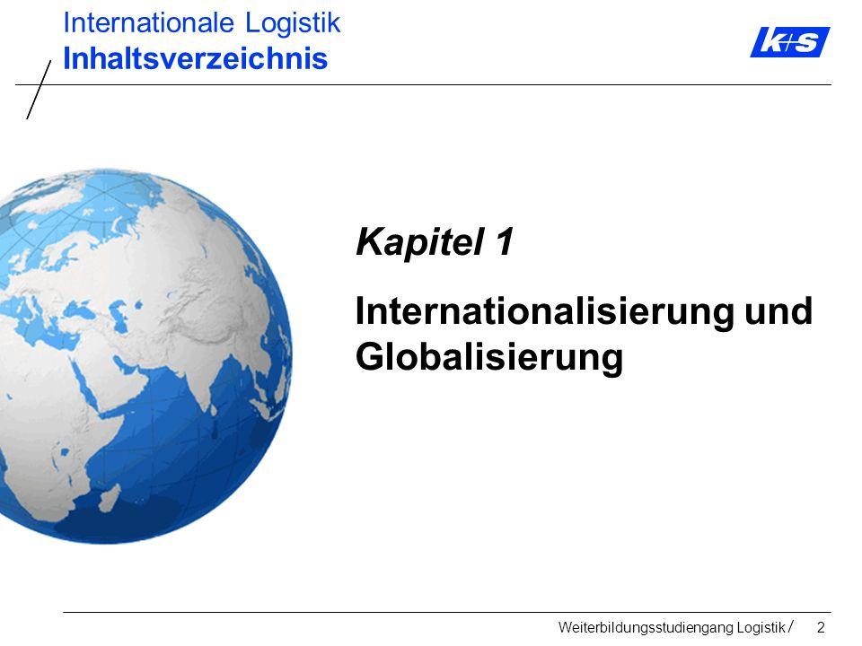 Internationalisierung und Globalisierung