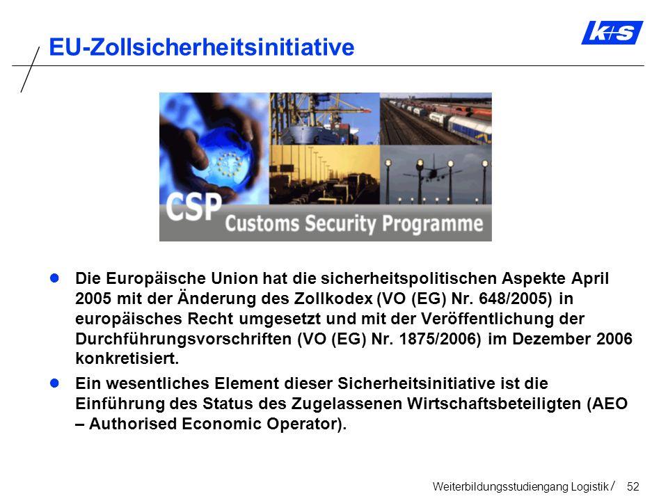 EU-Zollsicherheitsinitiative