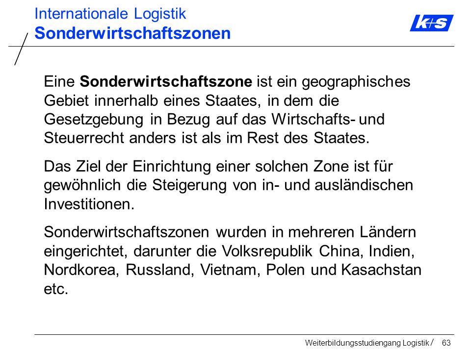 Sonderwirtschaftszonen