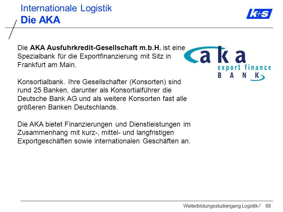 Die AKA Internationale Logistik