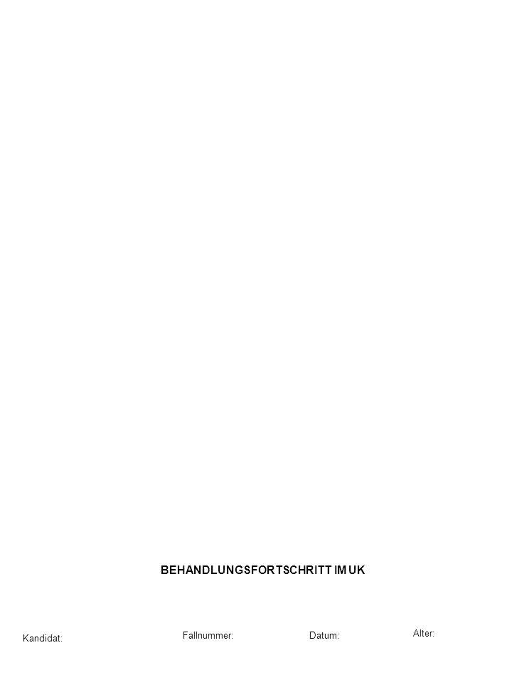 BEHANDLUNGSFORTSCHRITT IM UK
