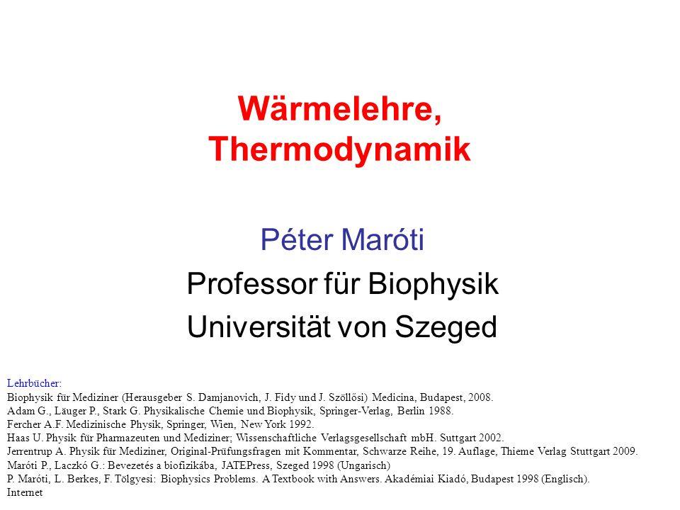 Wärmelehre, Thermodynamik