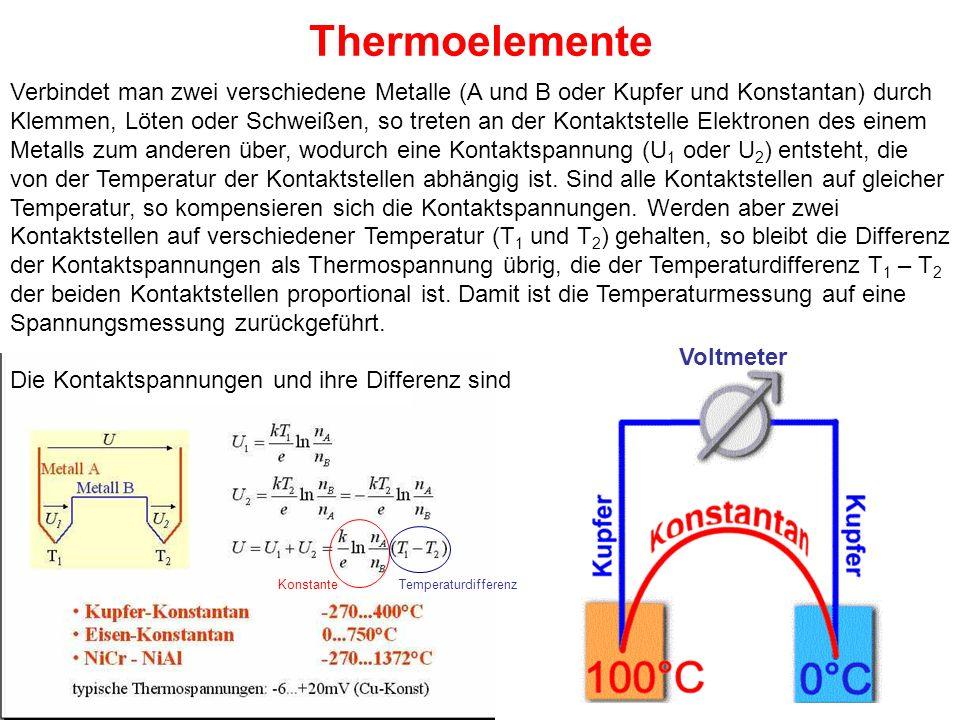 Thermoelemente
