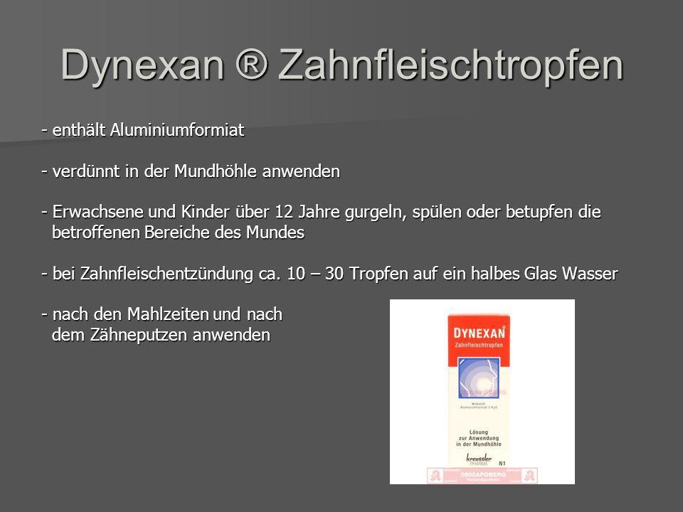 Dynexan ® Zahnfleischtropfen