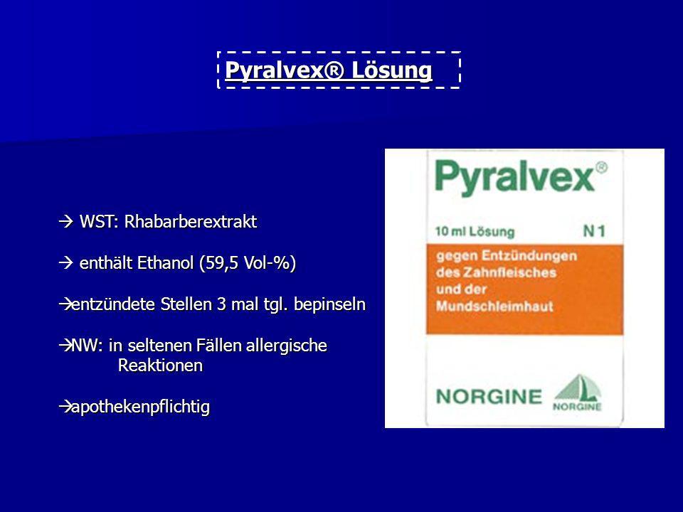 Pyralvex® Lösung  WST: Rhabarberextrakt