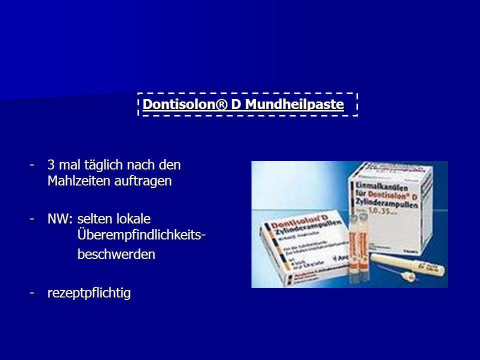 Dontisolon® D Mundheilpaste