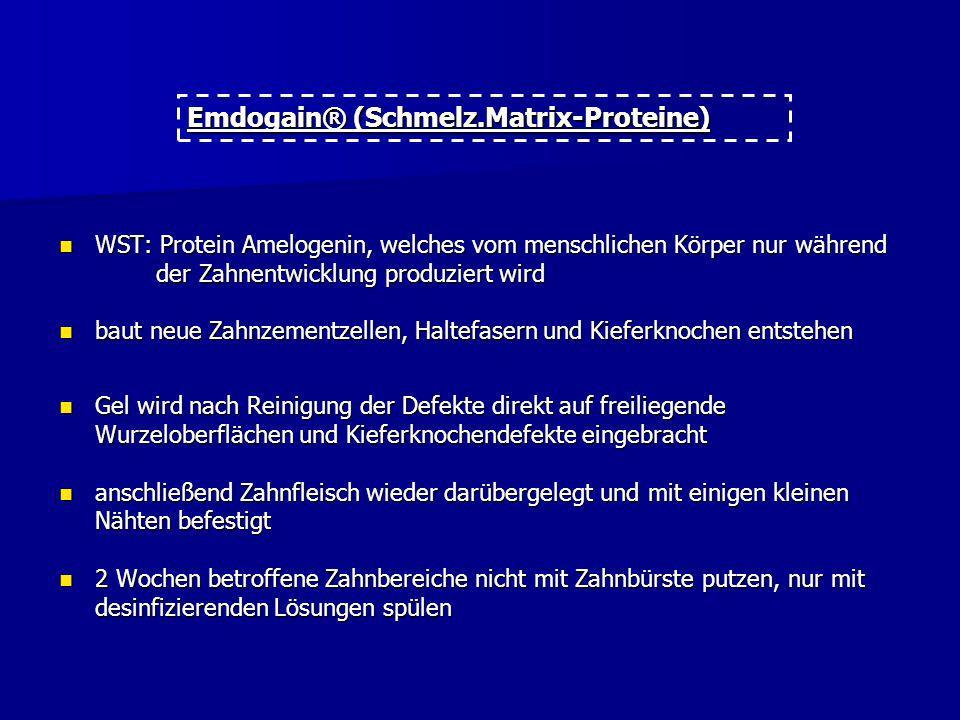 Emdogain® (Schmelz.Matrix-Proteine)