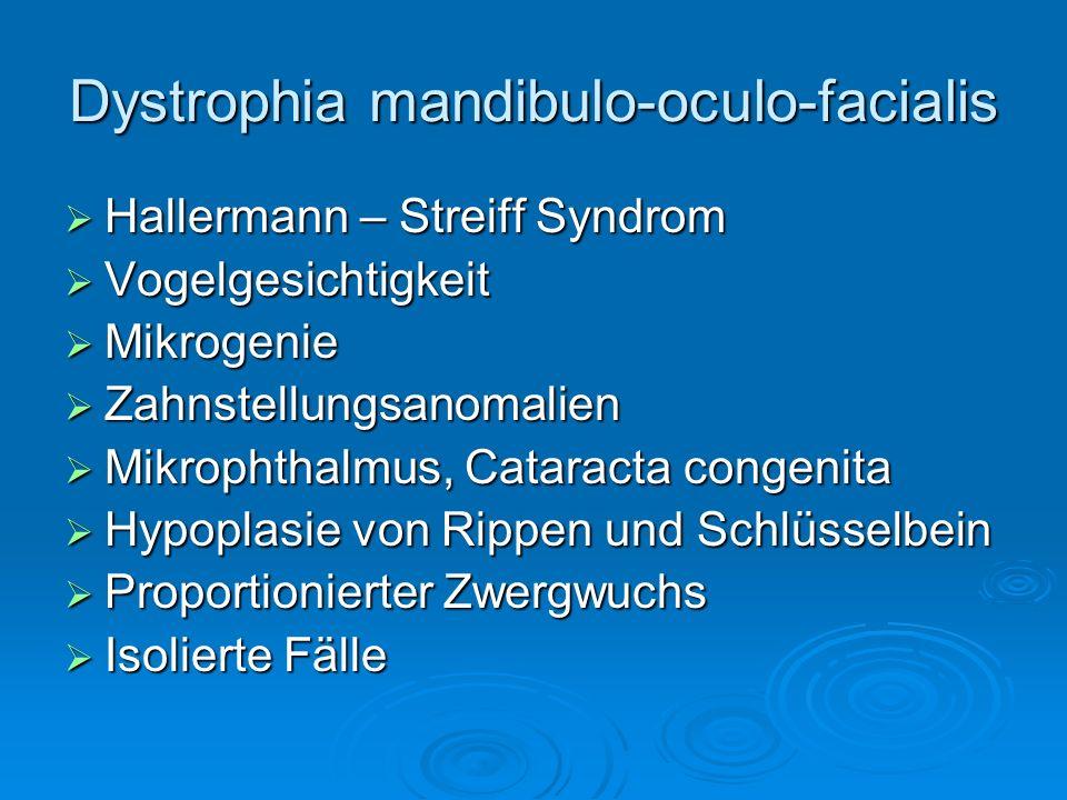 Dystrophia mandibulo-oculo-facialis