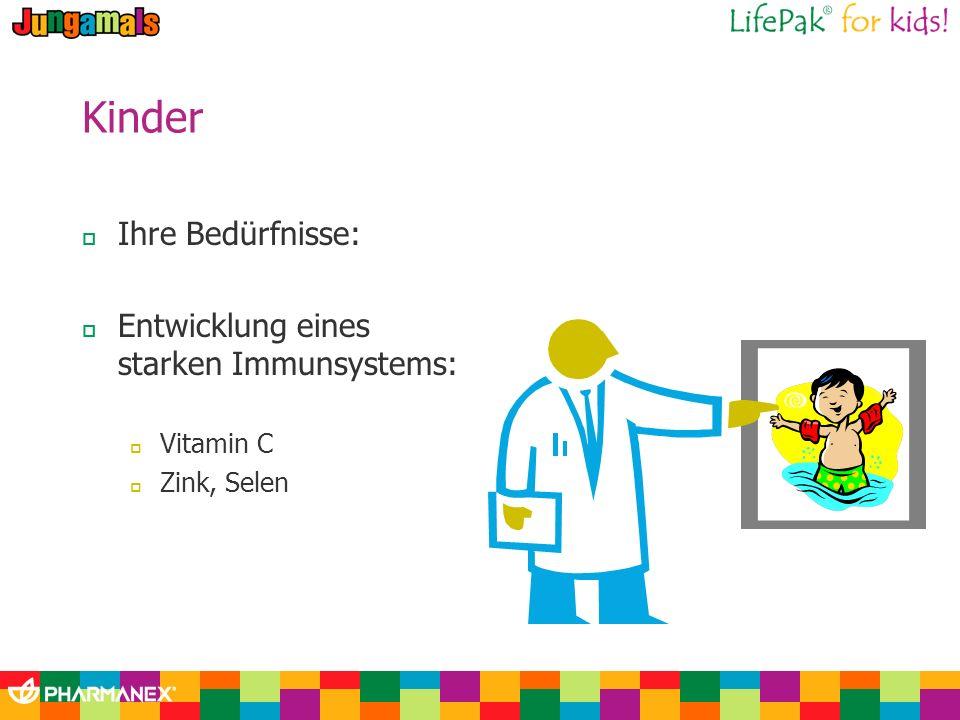 Kinder Ihre Bedürfnisse: Entwicklung eines starken Immunsystems: