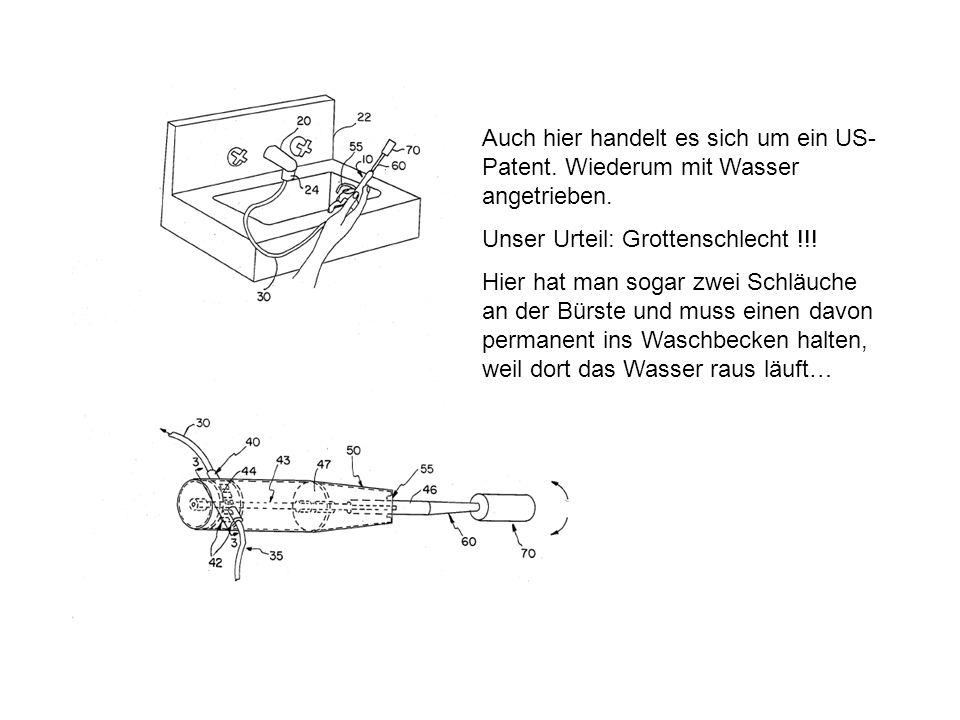 Auch hier handelt es sich um ein US-Patent
