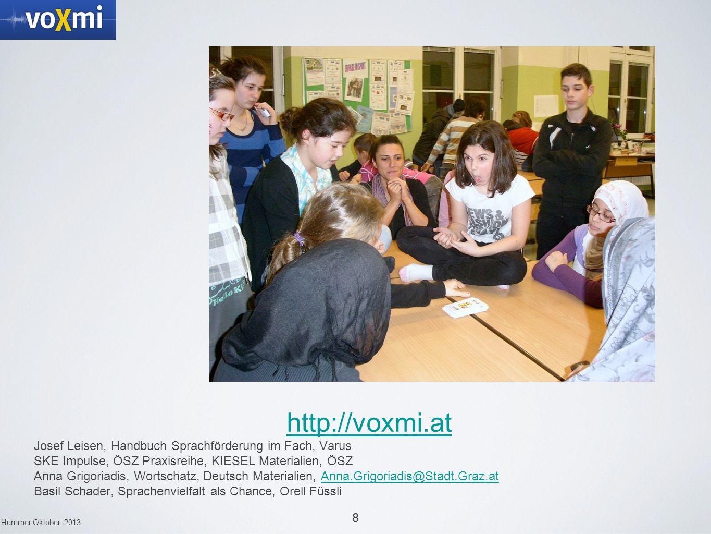 http://voxmi.at Josef Leisen, Handbuch Sprachförderung im Fach, Varus