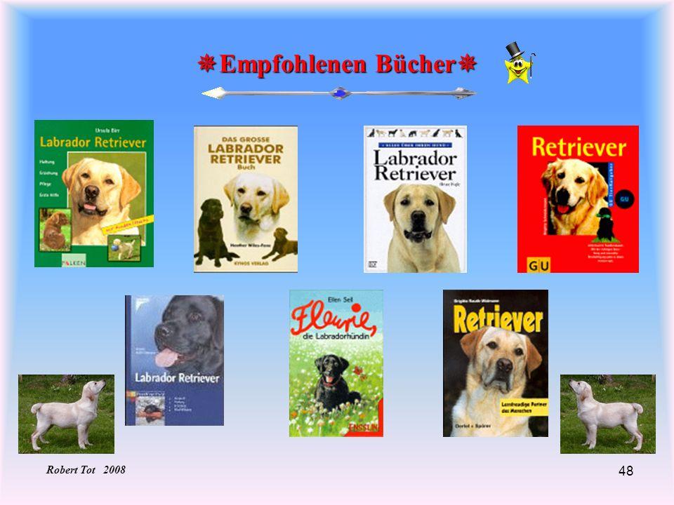 Empfohlenen Bücher Robert Tot 2008