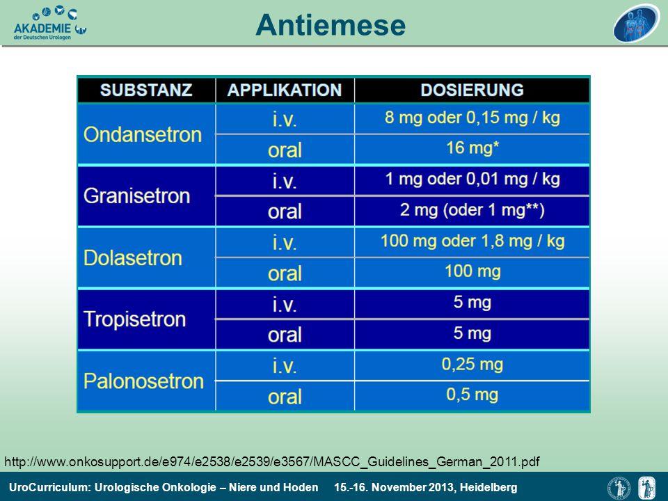 Antiemese http://www.onkosupport.de/e974/e2538/e2539/e3567/MASCC_Guidelines_German_2011.pdf