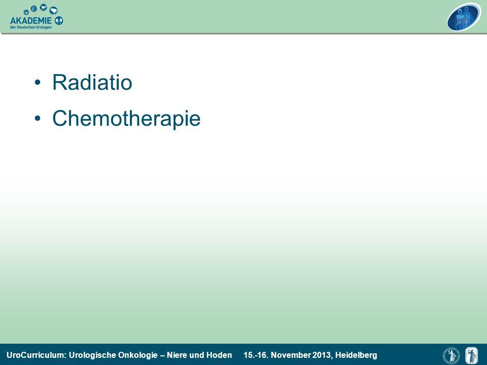 Radiatio Chemotherapie