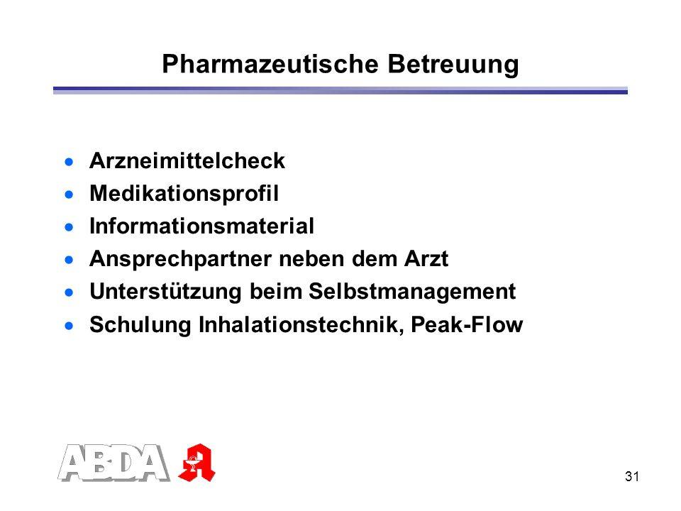 Pharmazeutische Betreuung
