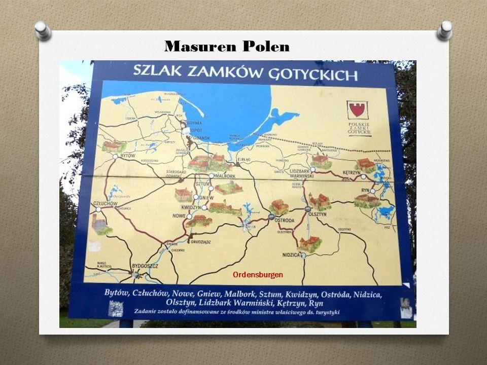 Masuren Polen Ordensburgen