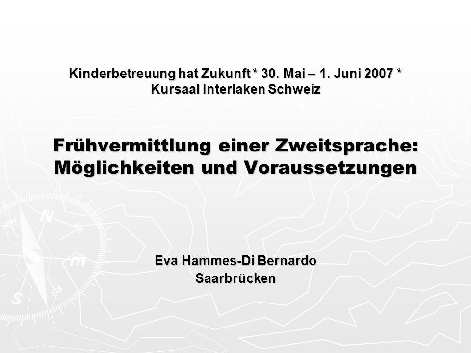 Eva Hammes-Di Bernardo Saarbrücken