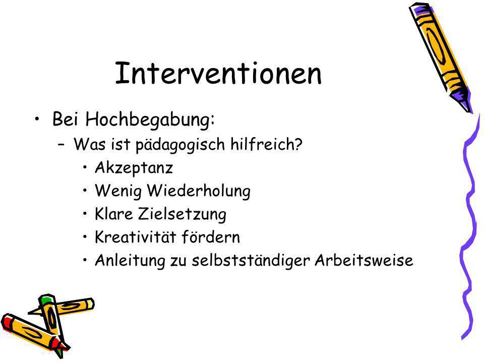 Interventionen Bei Hochbegabung: Was ist pädagogisch hilfreich