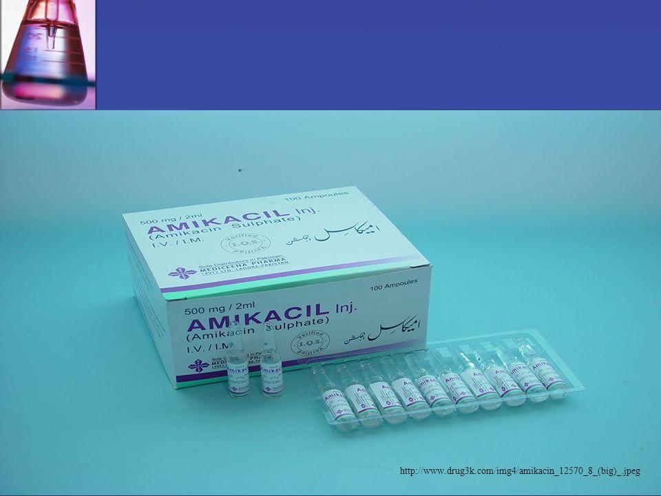 Aminoglykoside Indikationen Nebenwirkungen Bsp. -Präparate