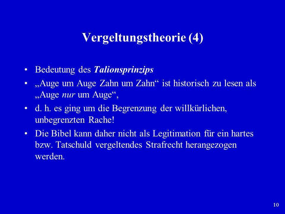 Vergeltungstheorie (4)