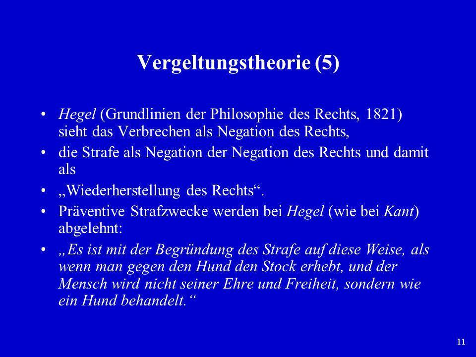 Vergeltungstheorie (5)