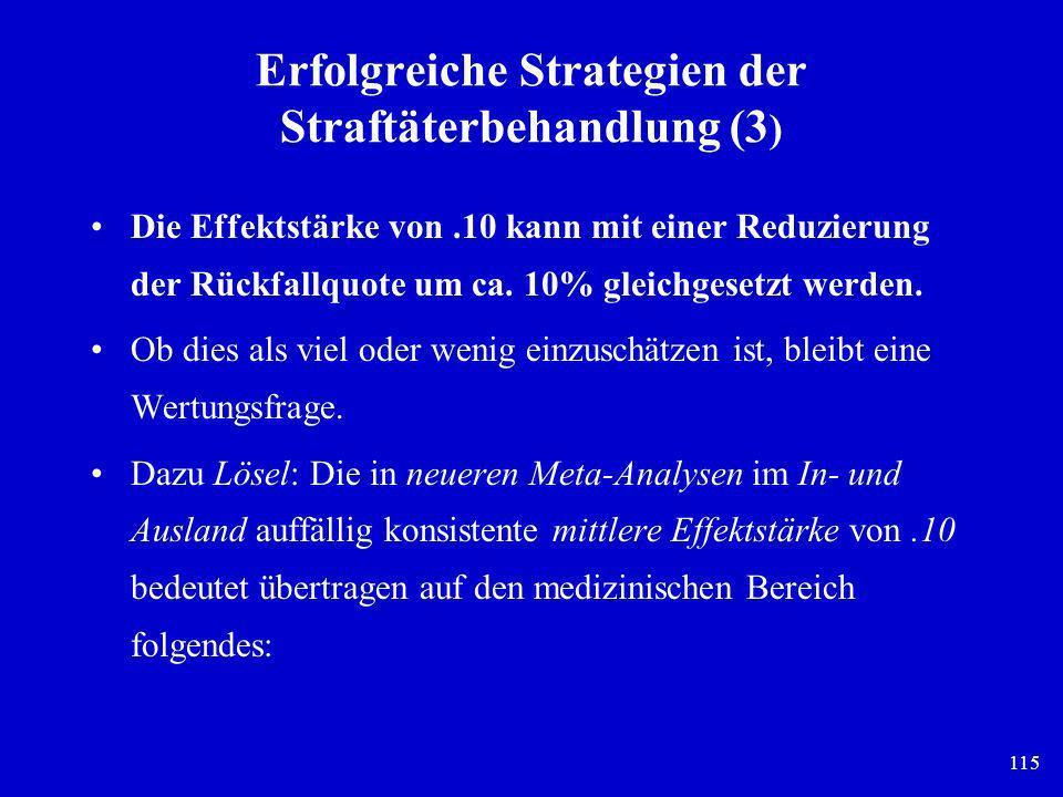 Erfolgreiche Strategien der Straftäterbehandlung (3)