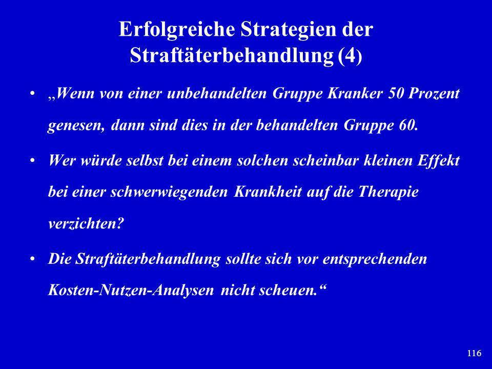 Erfolgreiche Strategien der Straftäterbehandlung (4)