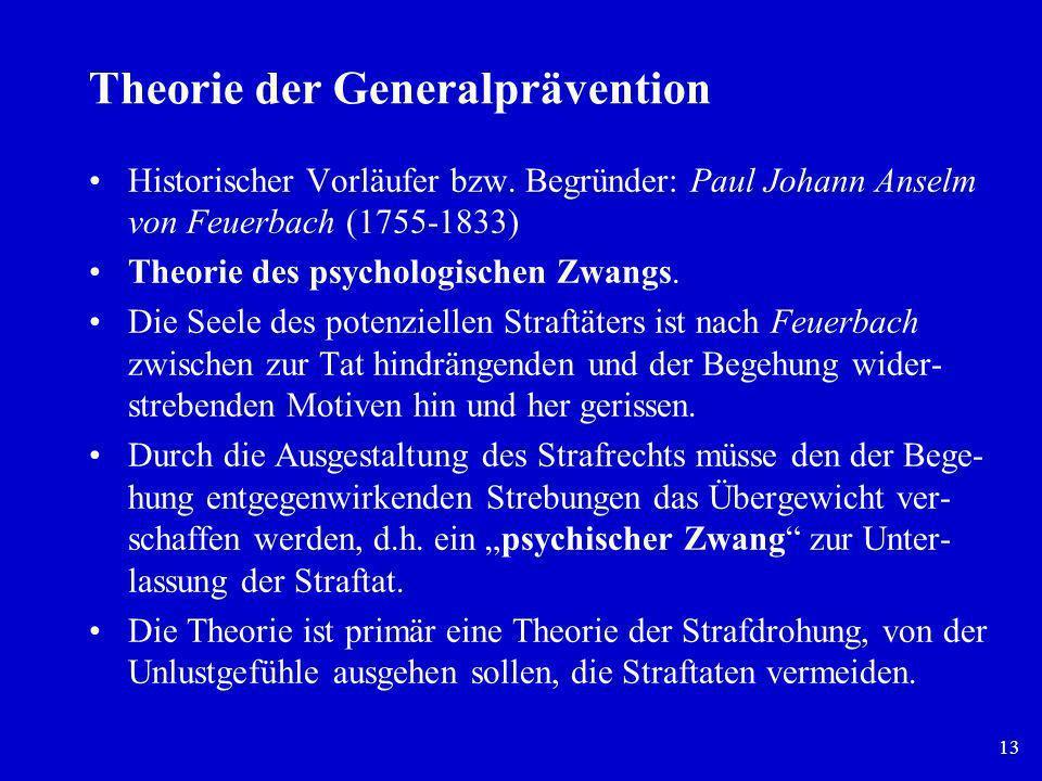 Theorie der Generalprävention