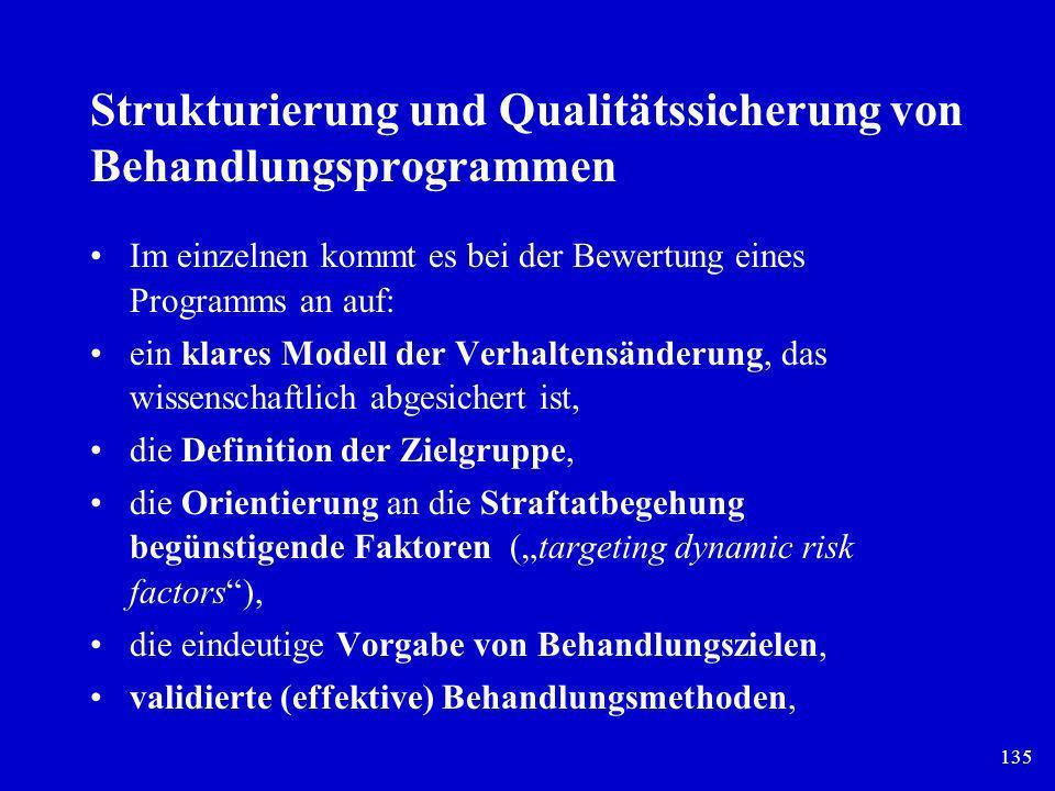 Strukturierung und Qualitätssicherung von Behandlungsprogrammen