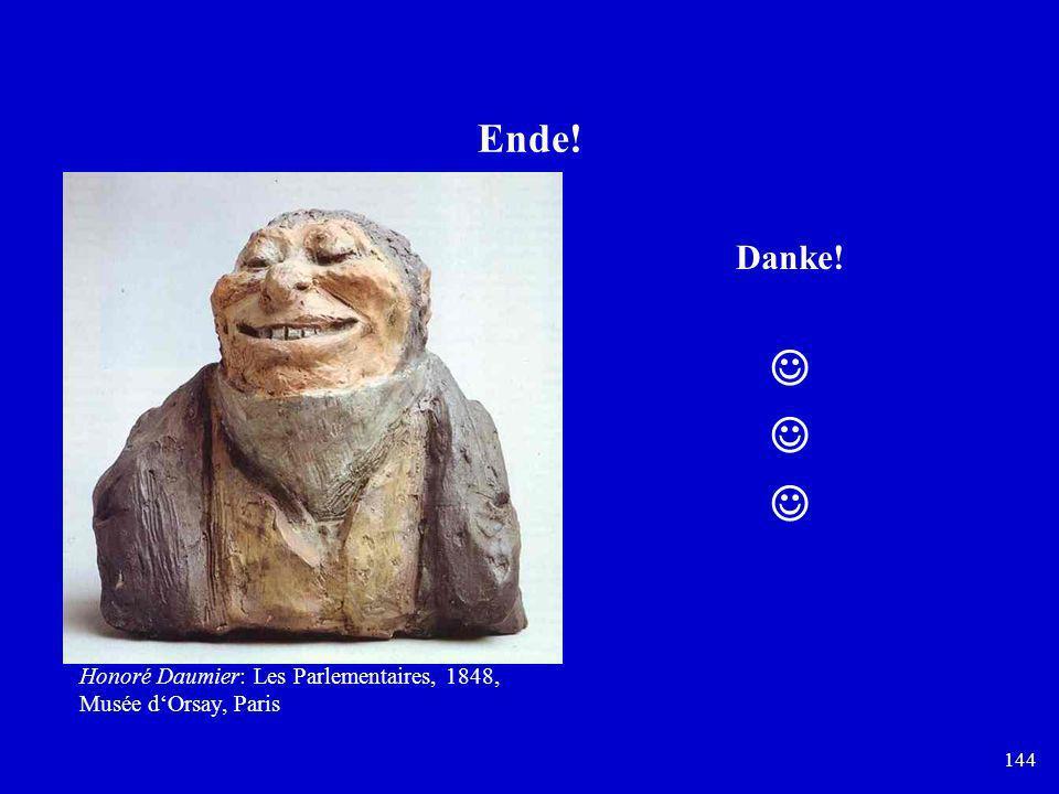  Ende! Danke! Honoré Daumier: Les Parlementaires, 1848,