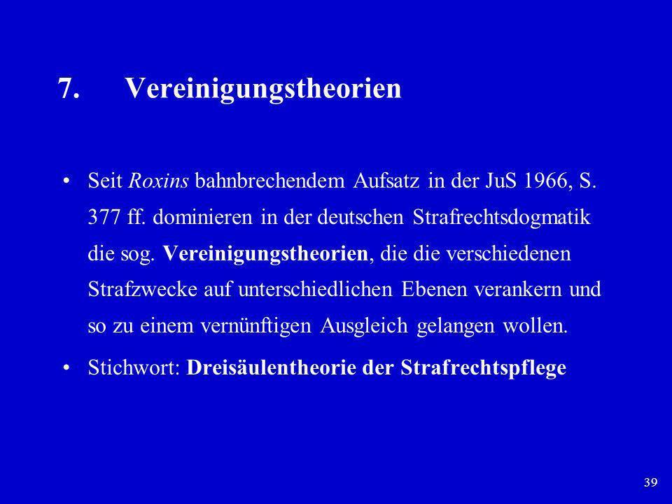 7. Vereinigungstheorien