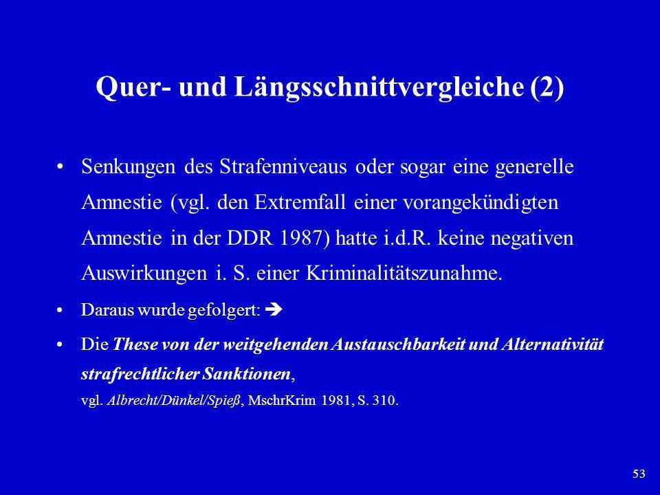 Quer- und Längsschnittvergleiche (2)
